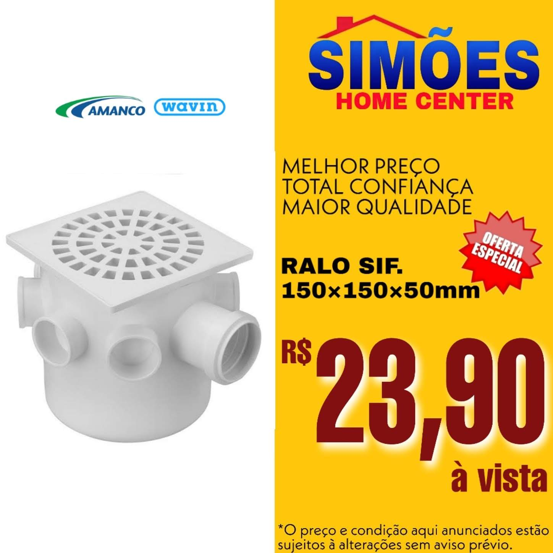Ralo Sif. 150x150x50mm